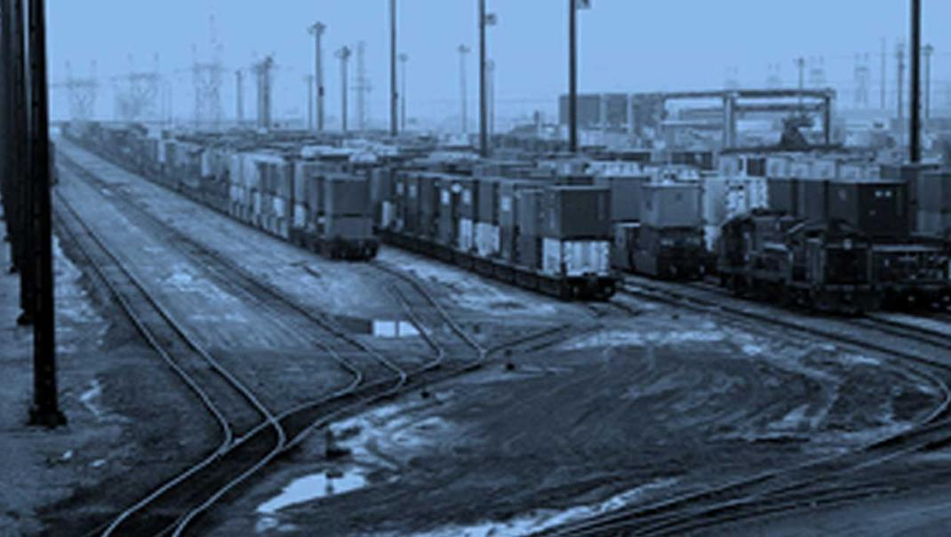 Photo of freight yard