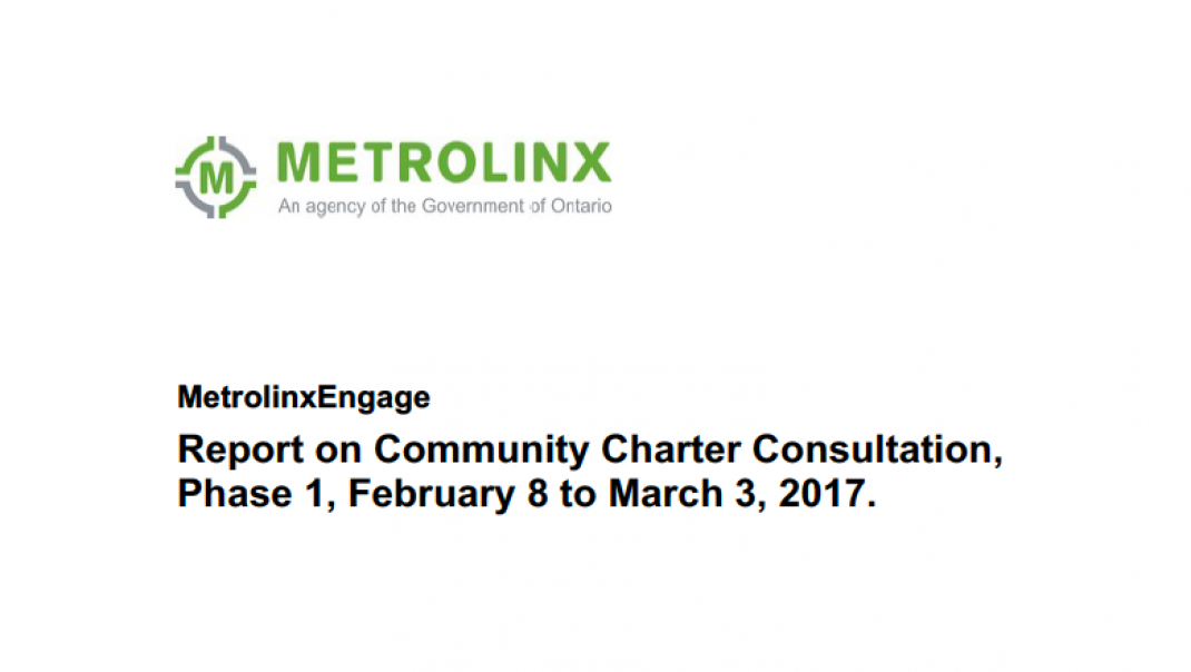 Charter Phase 1 Summary Report cover page