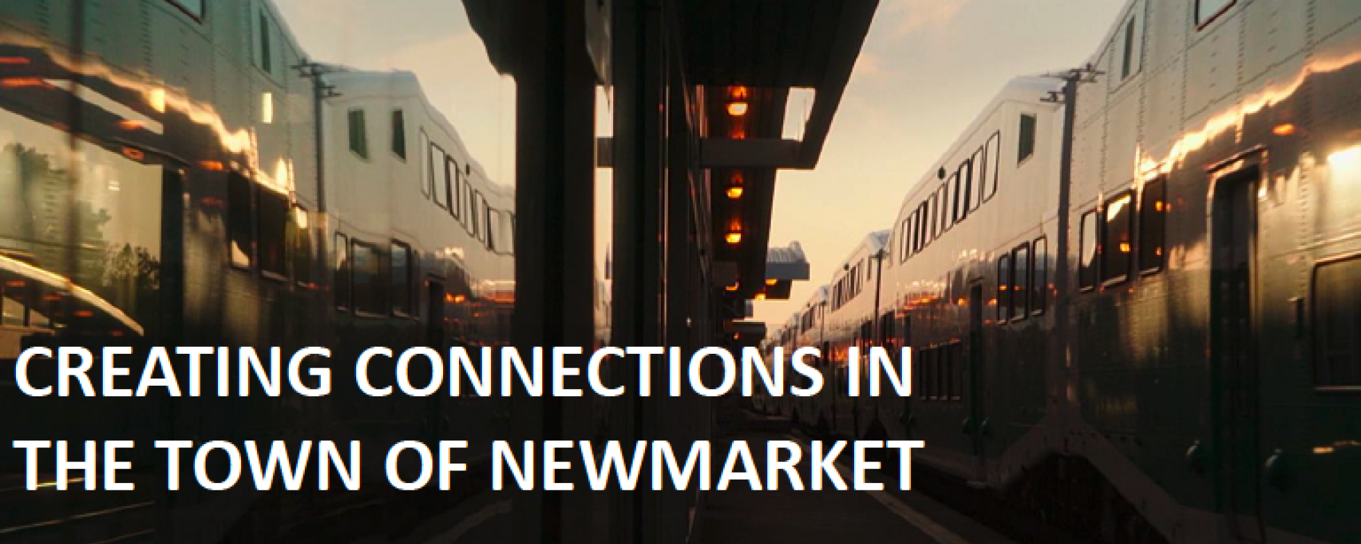 Creating Connections in The Town of Newmarket presentation cover