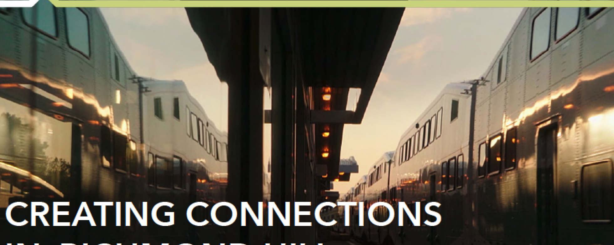 Creating Connections in Richmond Hill presentation cover page